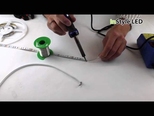 LED Strip Lights – How do I solder LED tape?
