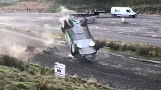 WRC Wales Rally GB 2017 - Yazeed Al-Rajhi Crash Sweet Lamb thumbnail