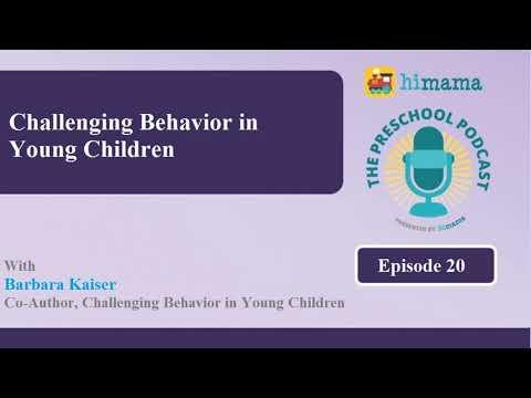 The Preschool Podcast | E20 -Challenging Behavior in Young Children