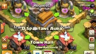 Crazy clash of clans glitch!! NO JAILBREAK REQUIRED