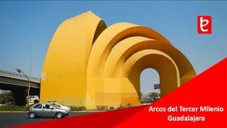 Arcos del Tercer Milenio, Guadalajara, Jal.   www.edemx.com