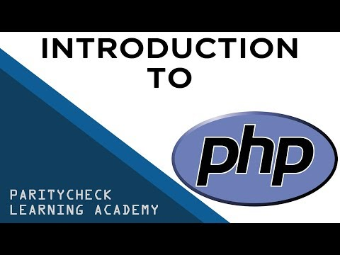 Introduction to PHP Programming Server-side scripting tutorial coding