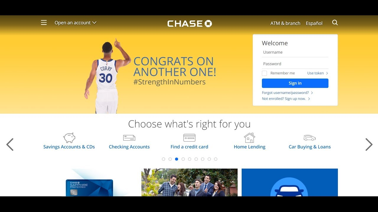 Chase Bank Log