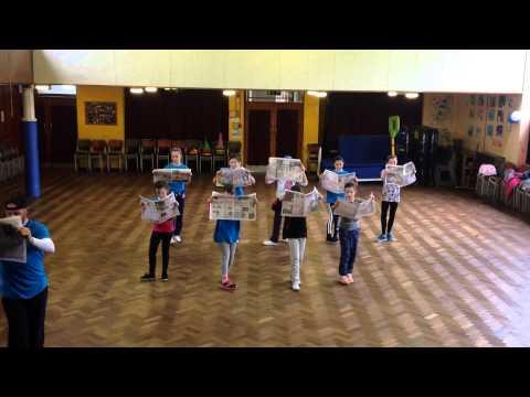 Jay Molyneux Dance Company Musical Theatre - Newsies
