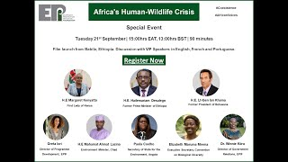 Special Event on Africa's Human-Wildlife Crisis