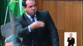 Desabafo do vereador Alexandre Nogueira de Uberlândia - 2015