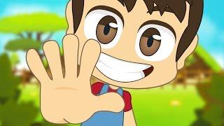 Learn Finger Names in French for Kids - تعلم اسماء الأصابع باللغة الفرنسية للأطفال