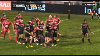 Résumé Toulouse - Toulon (32-9) Top 14 Rugby