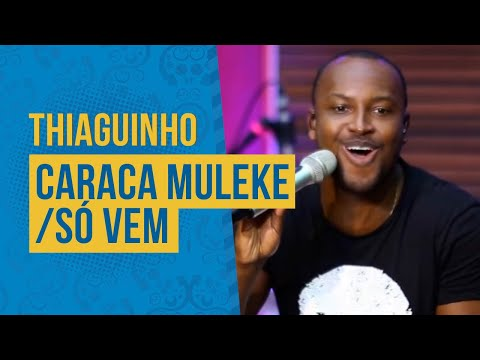 Thiaguinho Ao Vivo - Caraca Muleque  Só Vem Semana Maluca 2019 FM O Dia