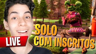 SOLO SNIPER COM INSCRITOS NO FORTNITE - DBRSTREAM