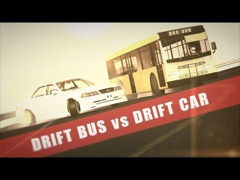 Drift Bus vs Drift Car | Assetto Corsa Machinima