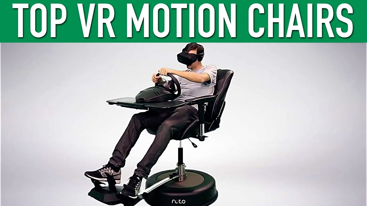 swivel chair vr accent arm chairs top motion virtual reality youtube