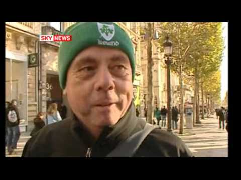Thierry Henry Handball IRELAND FANS VOICE THEIR DISAPPOINTMENT