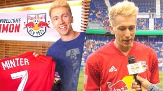 I SIGNED FOR NEW YORK RED BULLS!