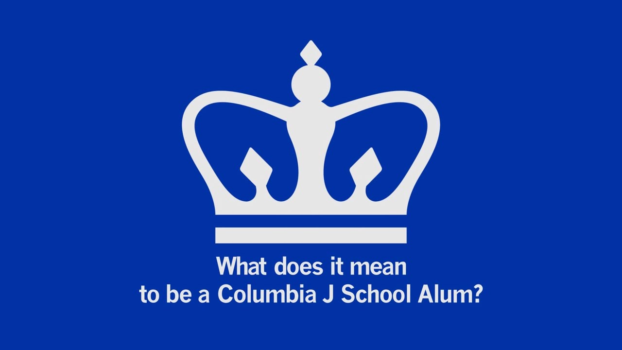 What does it mean to be a columbia j school alum youtube what does it mean to be a columbia j school alum biocorpaavc Images