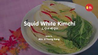Kimjang Project: Squid White Kimchi