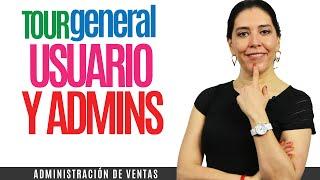 Sistema de Administracion de Ventas SalesNess: 01 Tour General Usuario y Administrador