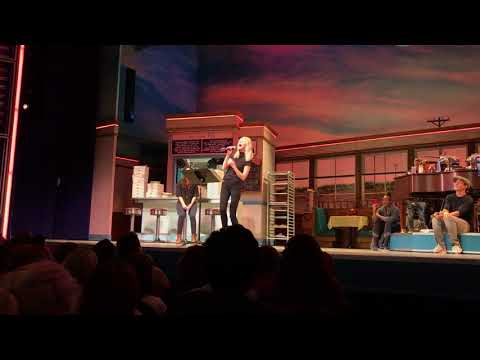 "Molly Kate Kestner ""She Used To Be Mine"" at #WaitressKaraoke"