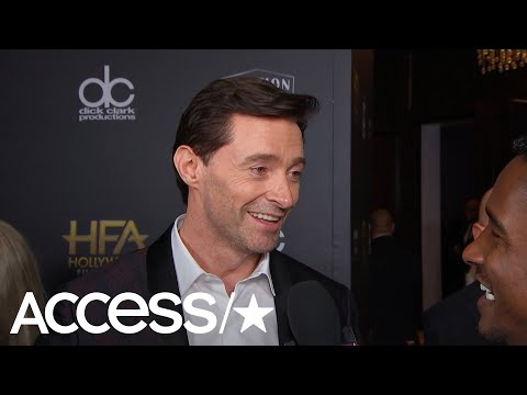 Hugh Jackman Takes Down Ryan Reynolds' Attack Ad: 'I'm Clearly In His Head'  Access
