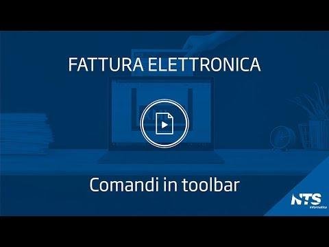 Consolle: principali funzionalità - Comandi in Toolbar