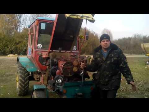 Советы по установке момента впрыска на тракторе....