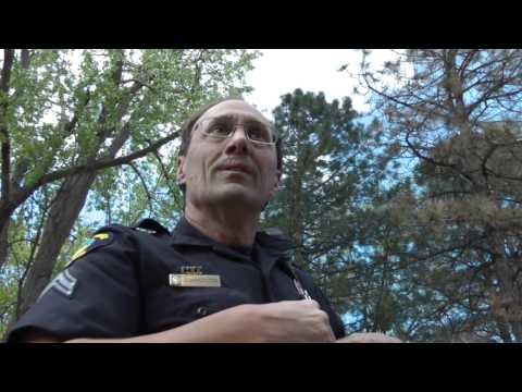 Golden, Colorado Police Department Officer Kreutzer hates anonymous photography