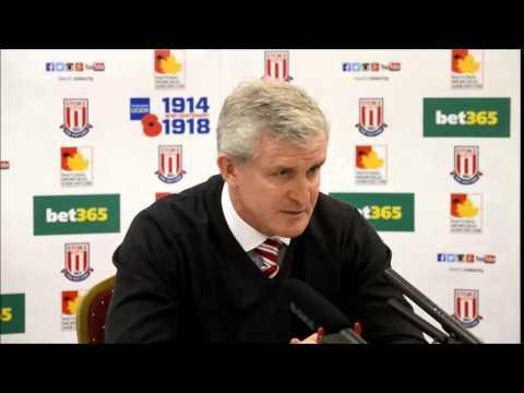 Stoke City v Arsenal Press Conference 4/12/14