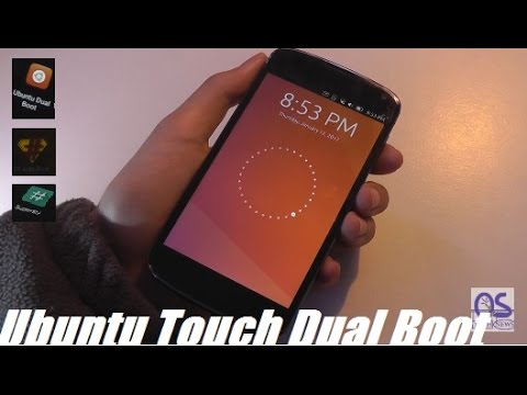 Dual-Boot Ubuntu Touch on Android + How To Install