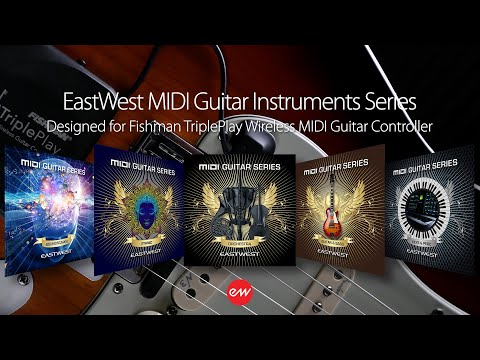 EastWest MIDI Guitar Series Vol 4 - Guitar and Bass