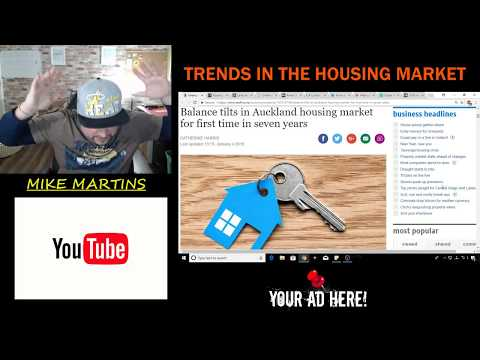 TRENDS IN THE HOUSING MARKET - JANUARY 4th 2018 - THE WORLD IS CRASHING