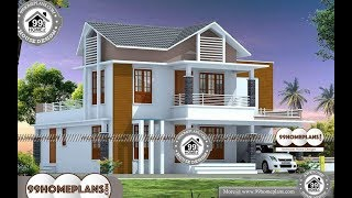 Indian House Design By 99HOMEPLANS COM [ Esp: M096 ]