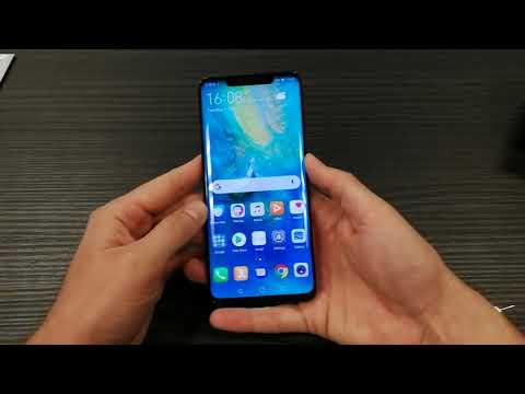 Huawei Mate 20 Pro  Greek unboxing & hands on