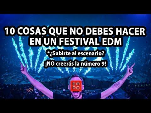 10 COSAS QUE NO DEBES HACER EN UN FESTIVAL | #TioEMPO