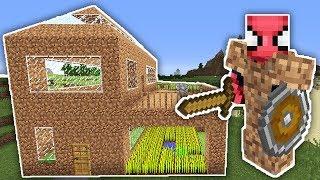 ZENGİN VS FAKİR ÖRÜMCEK ADAM #10 - Fakir'in Yeni Evi (Minecraft)