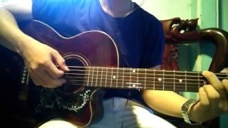 Về Phía Mưa - Thế Bảo - Guitar Cover by me