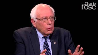 Bernie Sanders on Hillary Clinton (Oct. 26, 2015) | Charlie Rose