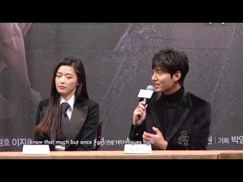 JUN Ji hyun전지현, LEE Min ho이민호 Interview   The Legend of the Blue Sea