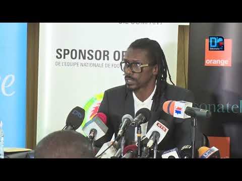 Aliou Cissé, sélectionneur des Lions    Ma philosophie par rapport à mes choix