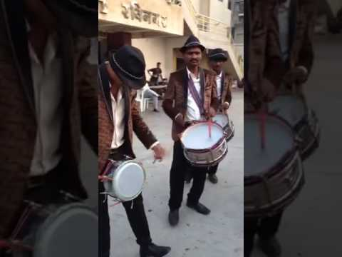 Mangaldeep band,Nagpur brass band and dhol fusion on Dhol Jageero Da