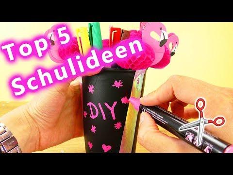 Die Top 5 Bastelvideos für die Schule  | DIY Kids Compilation | Deutsch
