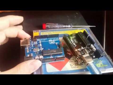 Купил себе Arduino Uno R3