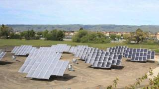 Solaria Tracking Solar Electric System - Time Lapse
