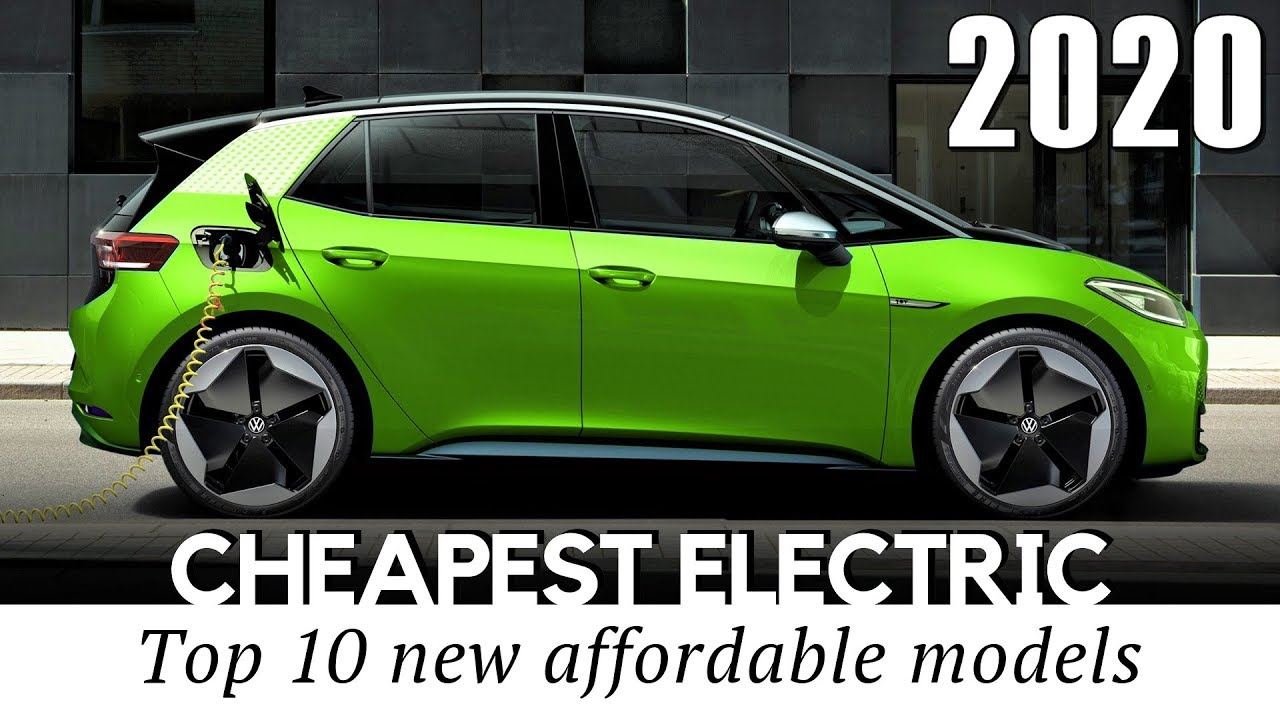 10 Cheapest Electric Cars Priced Below Tesla Vehicles In 2020 Comparison Of Specifications Youtube