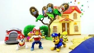 Детское видео с игрушками - Щенячий Патруль на задании