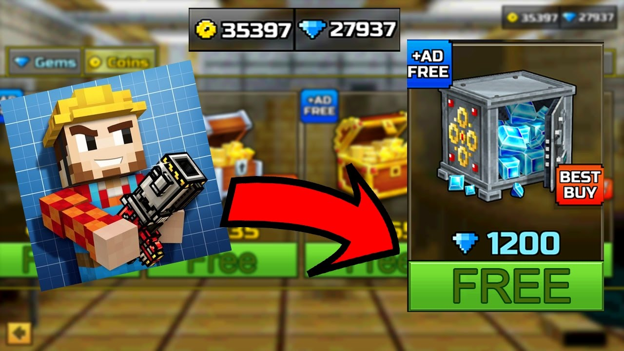 pixel gun 3d free diamonds