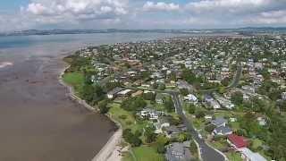 Dji Phanton 2 Vision + Flight At Kelvin Strand, Nz