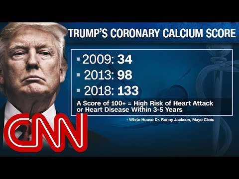 Dr. Gupta: Trump a heart disease risk