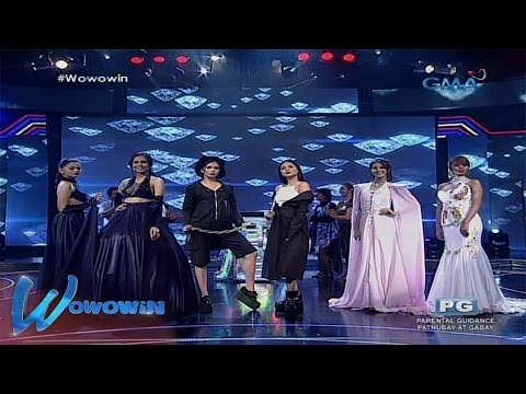 Wowowin:  Fashion designer contestants, share their glamorous designs