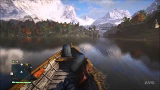Far Cry 4 - Vehicle - Civilian Boat Free Roam Gameplay (PC HD) [1080p]