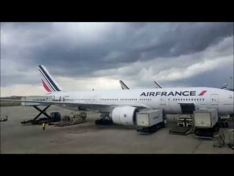 Air France Boeing 777-300ER | Paris CDG to Dakar | Full Flight